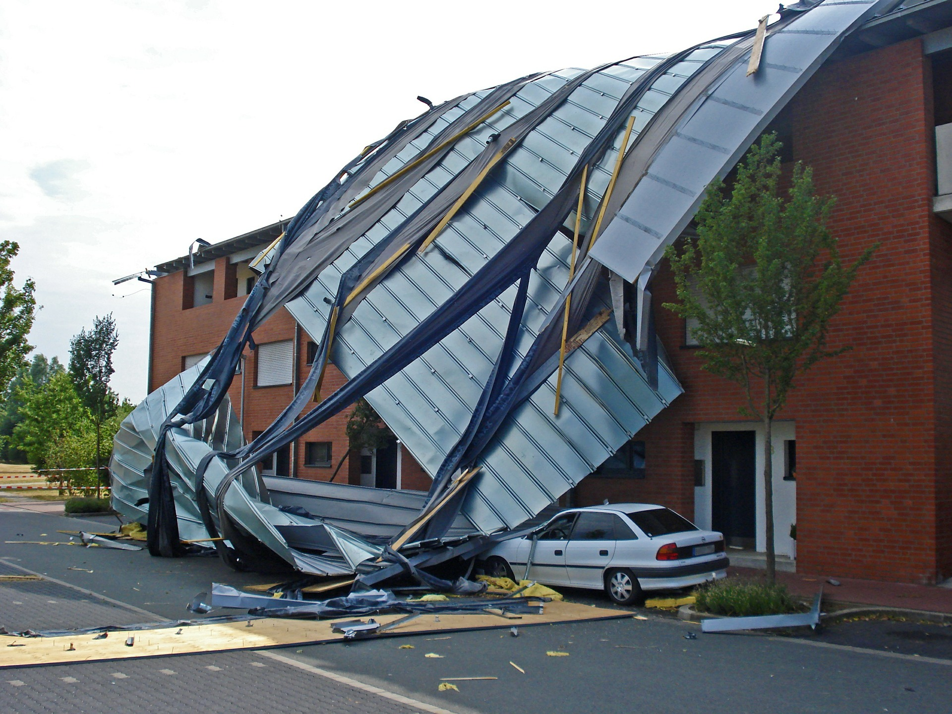 Commercial roof damge. What is importnat to know.