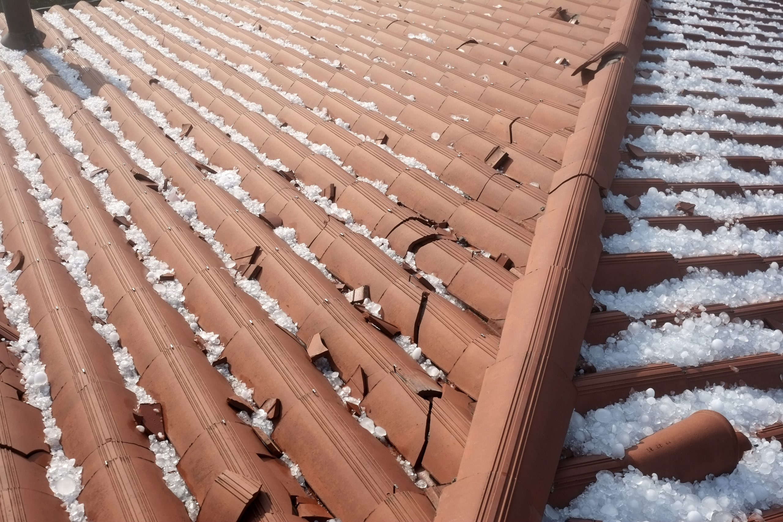 Hailstorms and your commercial roof